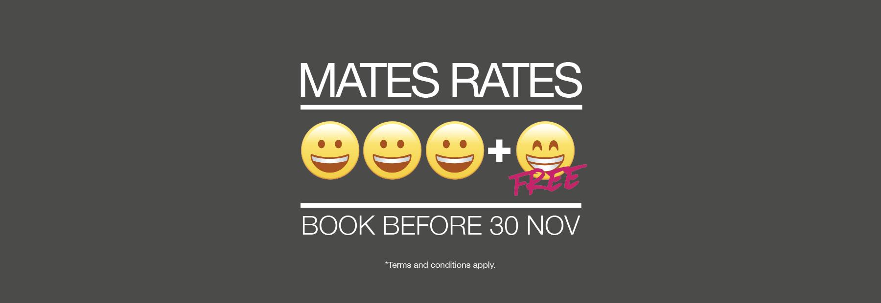Mates Rates! SA